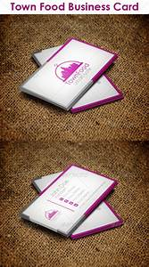 Town Food Business Card by djjeep | GraphicRiver