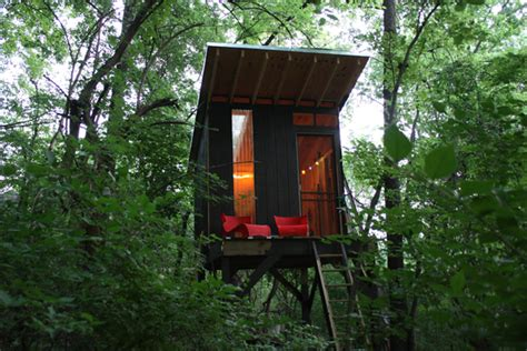 Shed Roof Treehouse