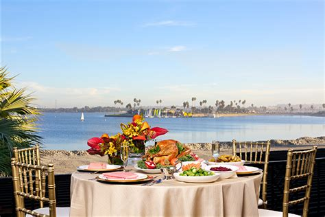 Catamaran Hotel San Diego Thanksgiving by Where To Celebrate Thanksgiving In San Diego