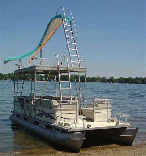 Pontoon Party Boat With Slide by 26 Best Images About Pontoon Aka Party Barge On