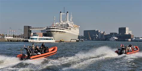 Speedboot Varen Rotterdam by Rondvaart Door De Rotterdamse Haven