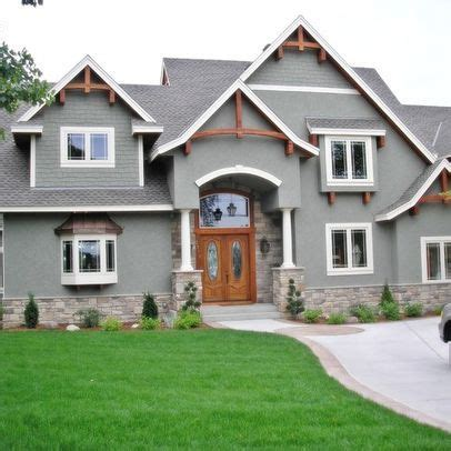17 Best Images About Stucco Is Ok On A Craftsman On