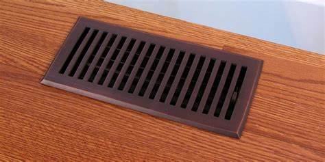 rubbed bronze finish contemporary floor registers