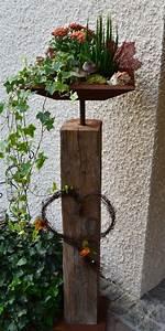 Für Den Garten Basteln : 1000 ideen zu rost deko auf pinterest gartendeko rost rost deko garten und edelrost deko ~ Markanthonyermac.com Haus und Dekorationen