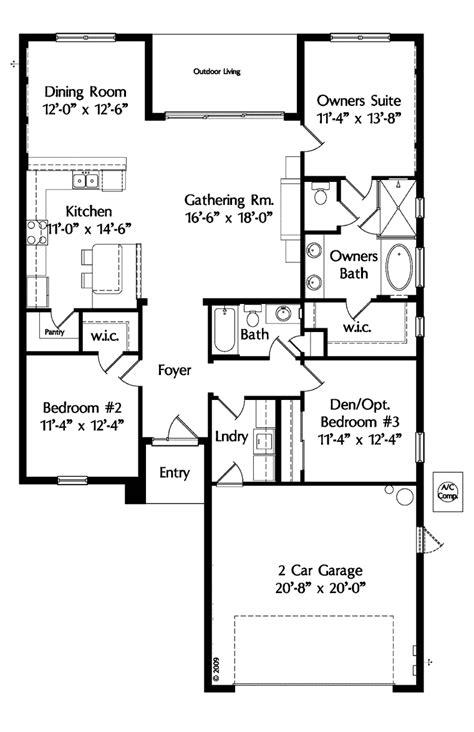 one level house floor plans single level house floor plans house plan 64638 at familyhomeplans