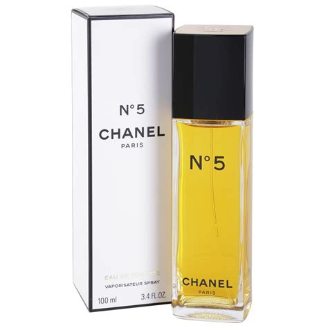 chanel no 5 eau de toilette for 100 ml notino co uk