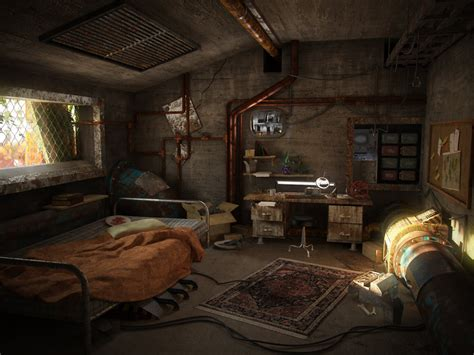 Witcher 3 Home Decorations : A Post-apocalyptic Room By Hrormir On Deviantart