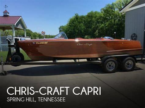 Chris Craft Capri Boats For Sale chris craft capri boats for sale