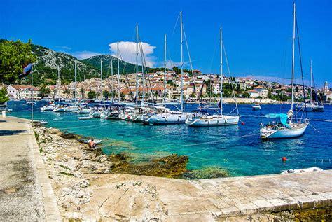 Sail Charter Croatia by Sailing Routes 7 Day Dalmatian Sailing Itinerary Yacht