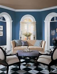 interesting blue home design ideas Amazing of Interesting New Blue And Black Living Room Ide #626