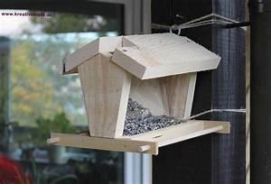 Vogelhäuschen Bauen Anleitung : futterhaus ~ Markanthonyermac.com Haus und Dekorationen