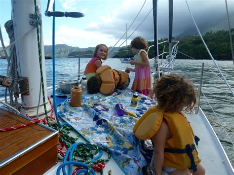 Catamaran Sailing Family by Family Life Living Aboard A Sailboat Traveling The World