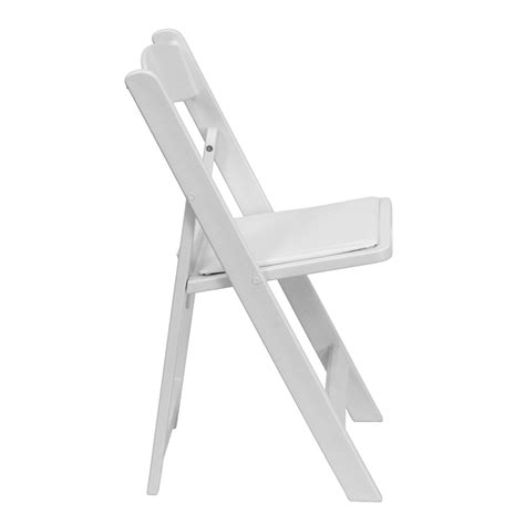 Hercules Resin Folding Chairs by Hercules 1000 Lb Capacity White Resin Folding Chair With