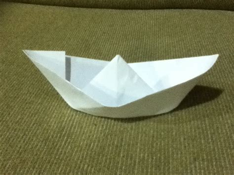 Origami Super Boat by How To Make A Paper Boat Origami Simple Instructions