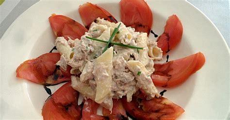 salade de pennes au riz mais thon tomate coeur de boeuf comment 231 a marche