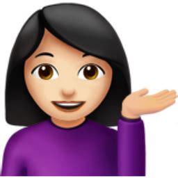 Light Skin Tone Emoji (u+1f481, U