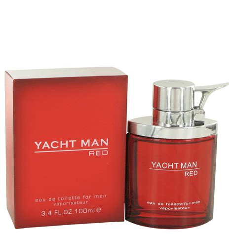 Yacht Man by Yacht Man Red Cologne By Myrurgia