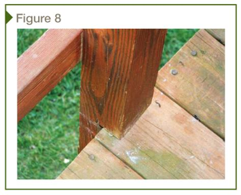 structural safety of wood decks and deck guards