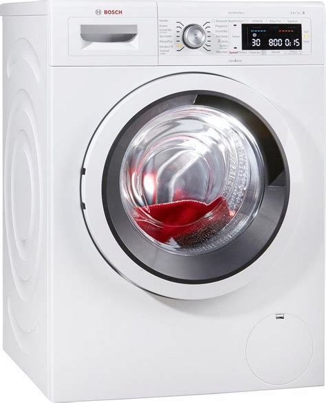 BOSCH Waschmaschine Serie 8 WAW285V1, A+++, 9 kg, 1400 U