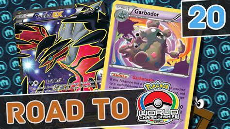 road to tcg worlds 2017 yveltal ex garbodor orlando