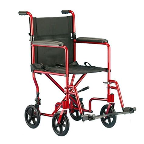 transport chair lightweight aluminum lttr19fr by invacare