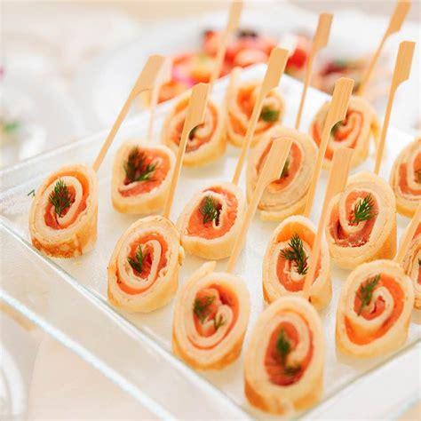 salmon rolls canape ideas schwartz