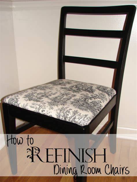 How To Refinish Dining Room Chairs  Recipes, Home Decor