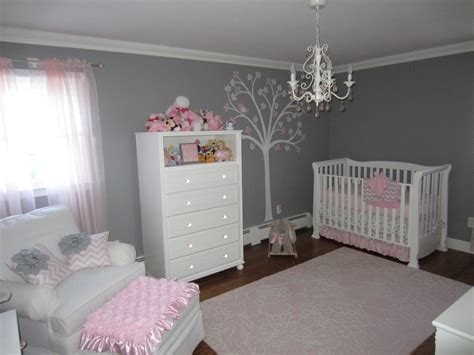 Nursery Room : Pink And Gray Classic And Girly Nursery-project Nursery