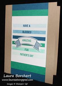 Ombre Father's Day Card with the Thoughtful Banner Stampin ...