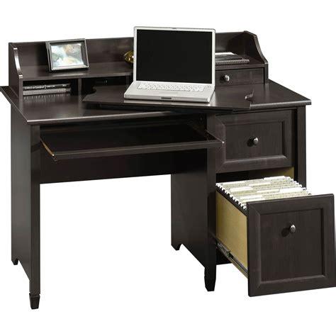 sauder edge water computer desk with hutch top desks home appliances shop the exchange