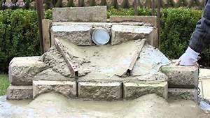 Teich Mit Wasserfall : wasserfall in meinem garten bauen video 2 youtube ~ Markanthonyermac.com Haus und Dekorationen