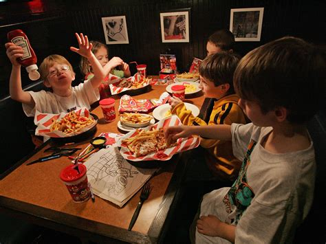 Restaurant Meals Mean More Calories And Soda For Kids And