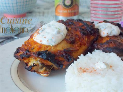 poulet tandoori cuisine indienne le cuisine de samar
