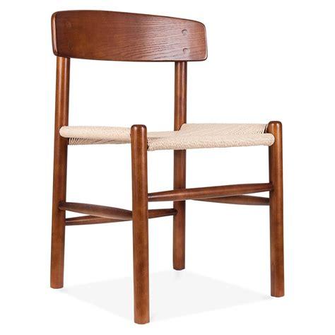 chaise de salle 224 manger design de style j39 marron cult furniture