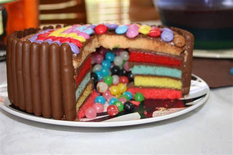 ficelle en cuisine rainbow cake