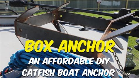 Inflatable Pontoon Boat Anchor System by The Box Anchor An Affordable Diy Catfish Boat Anchor