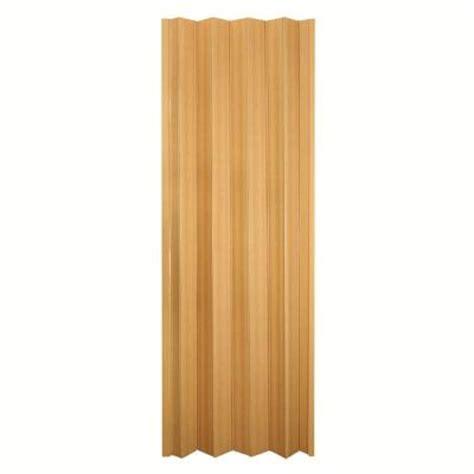 accordion doors home depot spectrum 36 in x 80 in via vinyl oak accordion door