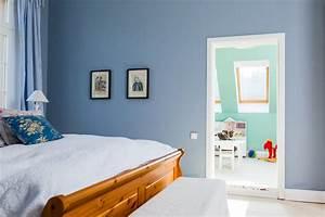 Graue Möbel Welche Wandfarbe : wandfarbe blau grau anna von mangoldt ~ Markanthonyermac.com Haus und Dekorationen