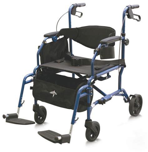 medline medline transport chair rollator hybrid 250 lb weight capacity 19 quot width seat transport