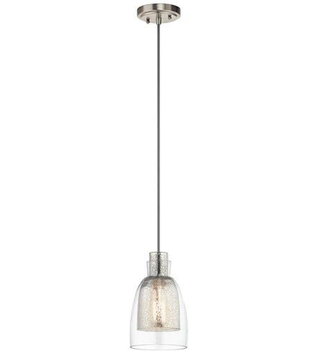 kichler 43625ni evie modern brushed nickel mini drop ceiling lighting kic 43625ni
