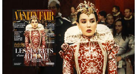 vanity fair isabelle adjani en couverture du num 233 ro de novembre vanity fair