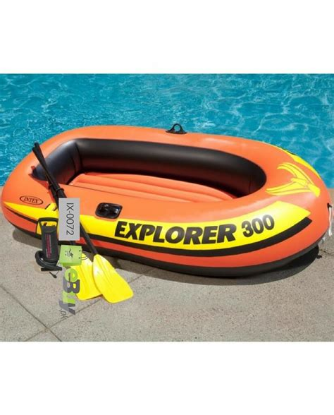 Inflatable Boat Online by Buy Intex Inflatable Explorer 300 Boat Online In
