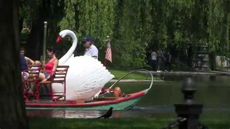 Swan Boats Boston Public Garden by Boston Swan Boats Public Garden Youtube