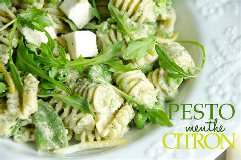 salade de petites p 226 tes au pesto de menthe