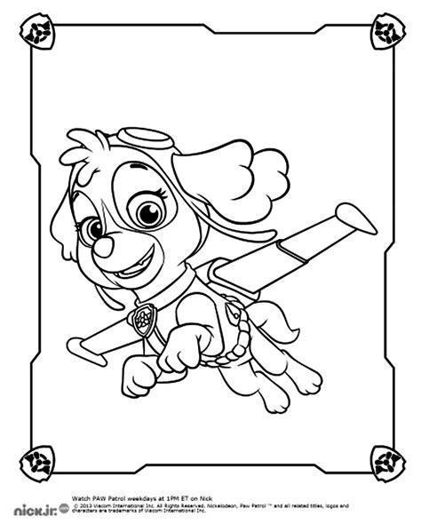 pat patrouille 10 dessins anim 233 s coloriages 224 imprimer