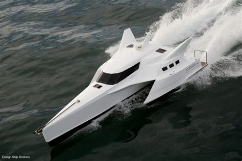 Boat Financing 0 Down by Wavepiercer Trimaran Power Boats Boats Online For Sale
