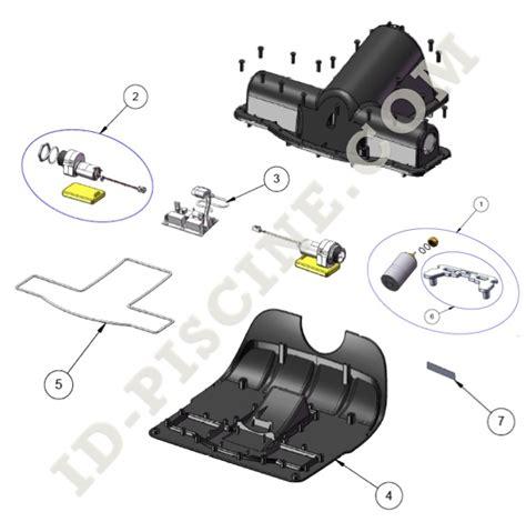 bloc moteur robots zodiac vortex 3 vortex 2 rv4400 de remplacement id piscine
