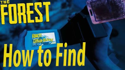 Yacht Keycard by How To Find The Camcorder Keycard The Forest Youtube