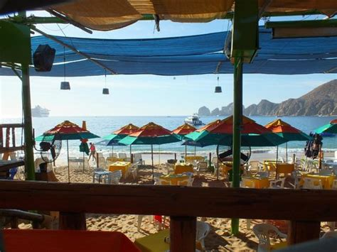 ask for joel picture of mango deck cabo san lucas