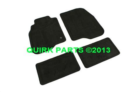 2005 2012 chevy pontiac front rear black carpet floor mats oem brand new ebay